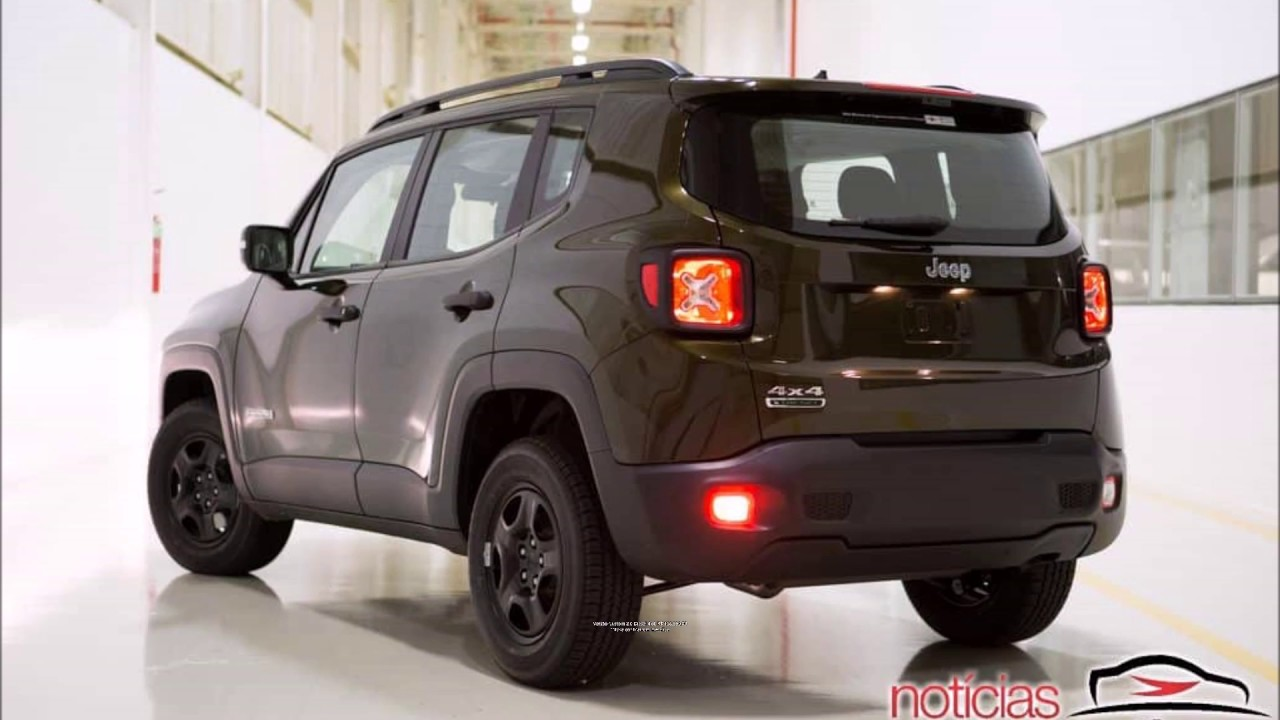 Linha 2018 Do Jeep Renegade Novas Versoes Custom Night Eagle E