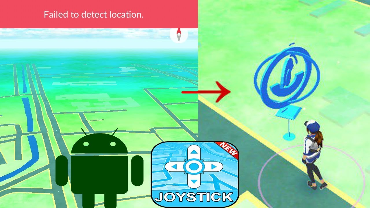 How to solve Failed to detect location in flygps/joystick hack gps