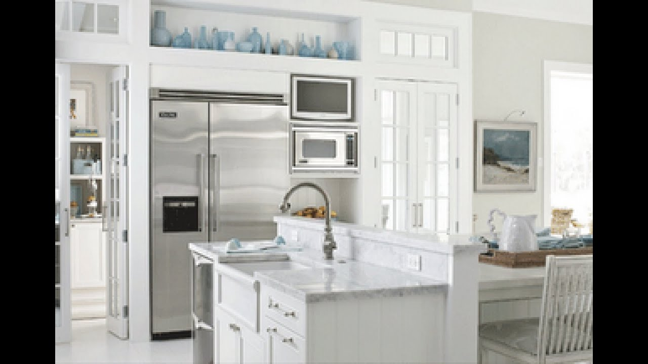Painting Kitchen Cabinets White - YouTube
