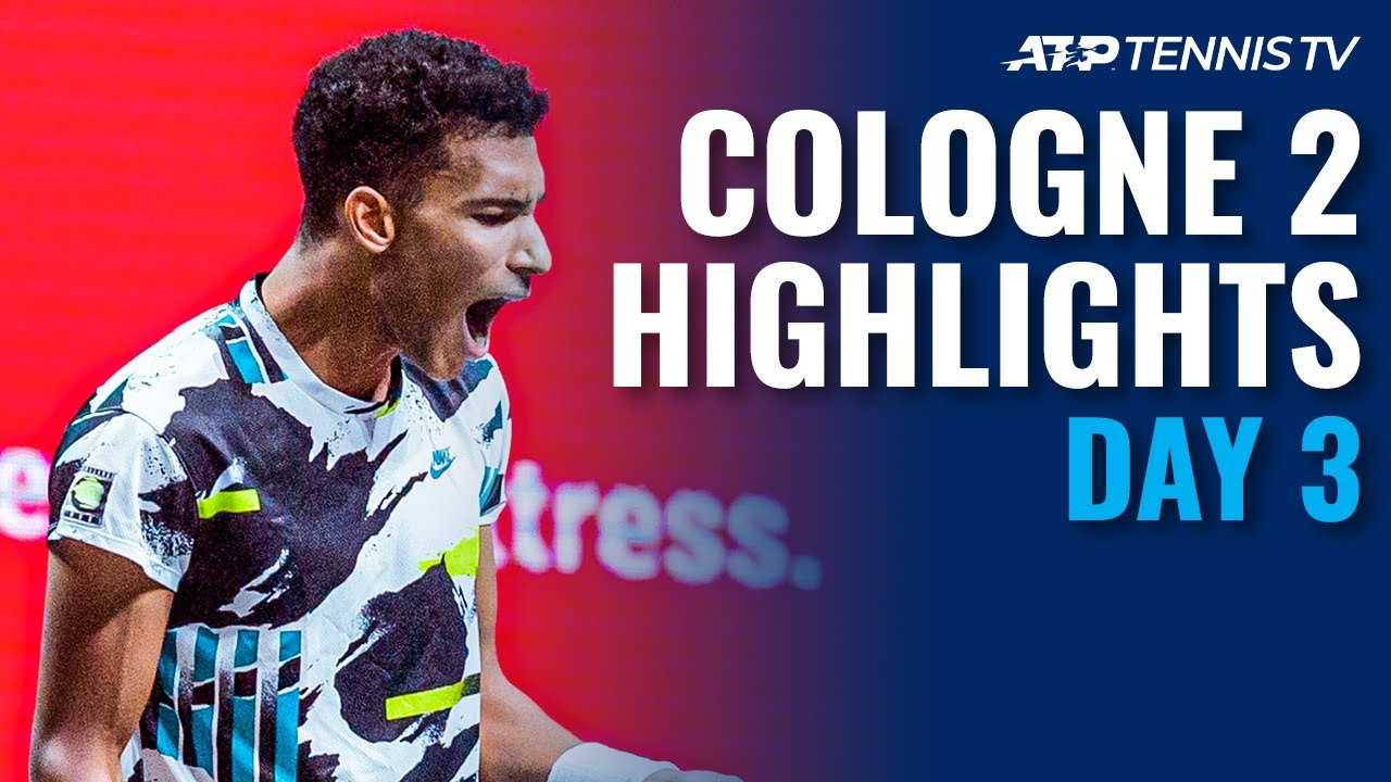 Auger-Aliassime Survives Scare; Zverev Stays Unbeaten | Cologne 2 2020 Day 3 Highlights