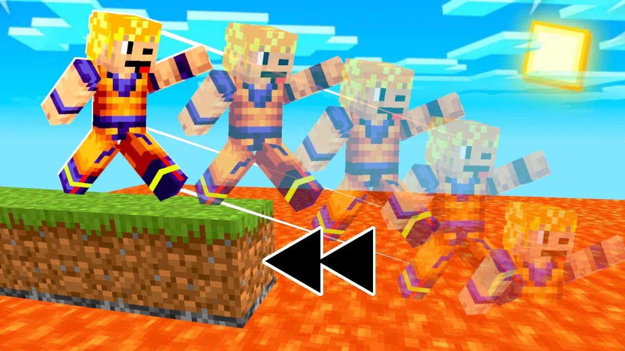 Minecraft, ale MOŻESZ SIĘ COFAĆ w CZASIE!