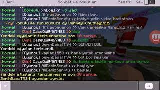 Minecraft pe efsane survival games serverı tanıtım #1