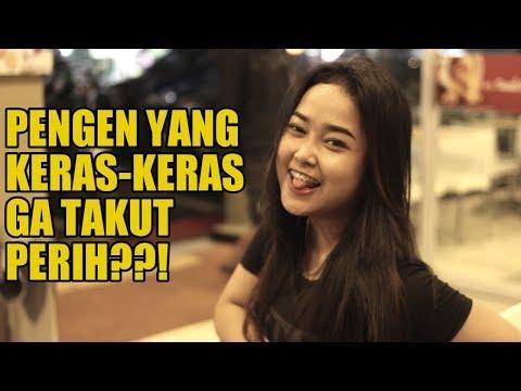 KECEPLOSAN!!! Pertama Kali MENDESAH Rasanya PERIH | SOSIAL EKSPERIMEN INDONESIA