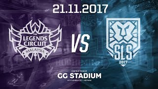 [21.11.2017] Malaysia vs Singapore [Group Stage][AllStar 2017]
