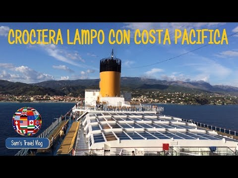 Crociera LAMPO Su Costa PACIFICA!