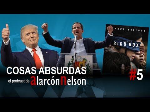▶ COSAS ABSURDAS #5 – Trump reabre el Gobierno – El Presidente de Venezuela – Bird Box