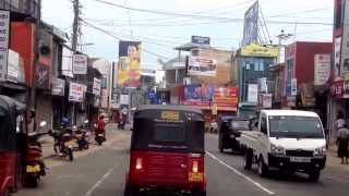 Road trip from Negombo to Dambulla, Sri Lanka 2013
