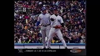 2001 MLB: Royals at Yankees