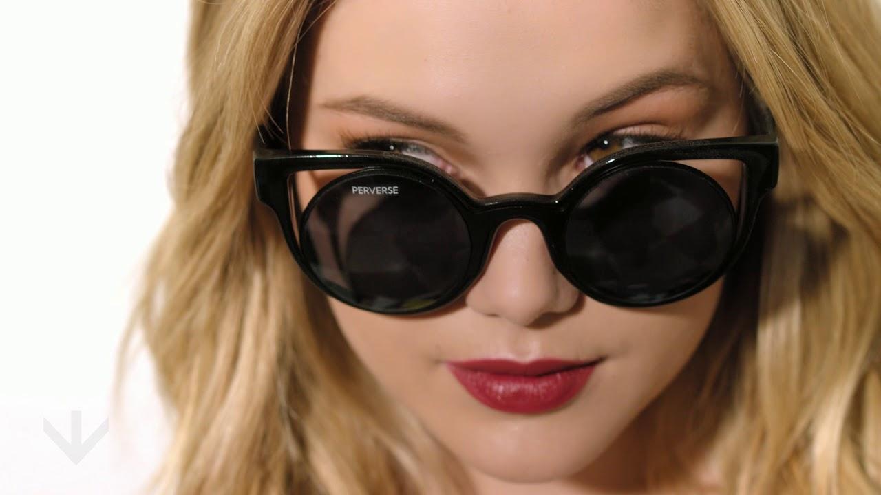 d5a74b4e9b2 Olivia Holt x PERVERSE sunglasses Capsule Collection - YouTube