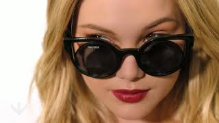 Olivia Holt x PERVERSE sunglasses Capsule Collection