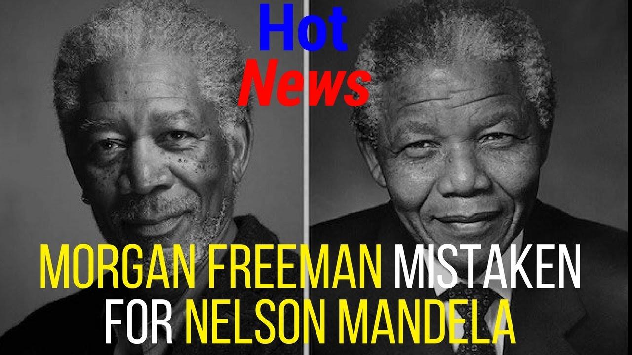 nelson mandela and morgan freeman meme morgan freeman