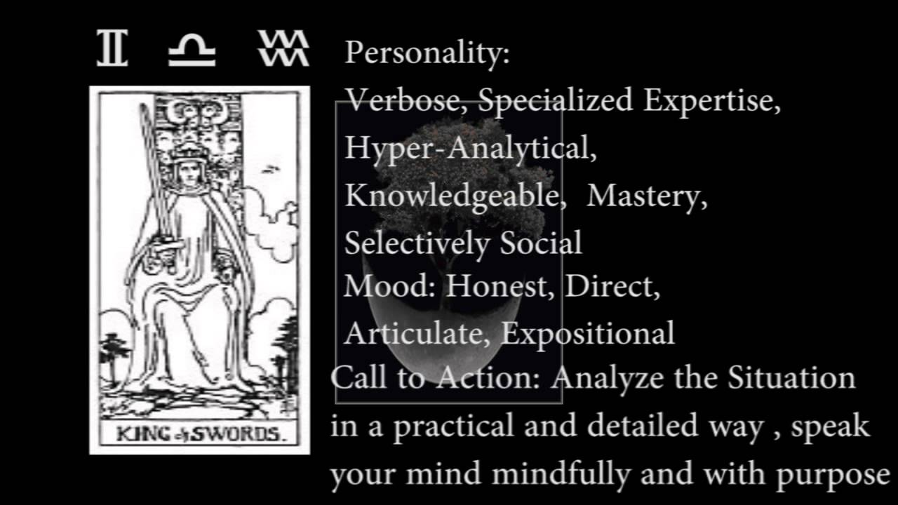 King of Swords (Tarot): meaning and interpretation 33