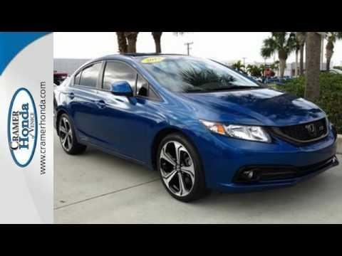 2013 Honda Civic Sdn Sarasota FL Venice, FL #H151231A. Cramer Honda