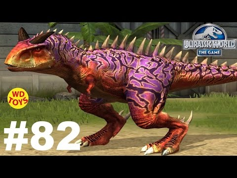 Jurassic World - The Game Dinosaurs Ludia Episode 82  Indominus Rex Vs  Gameplay  - WD Toys