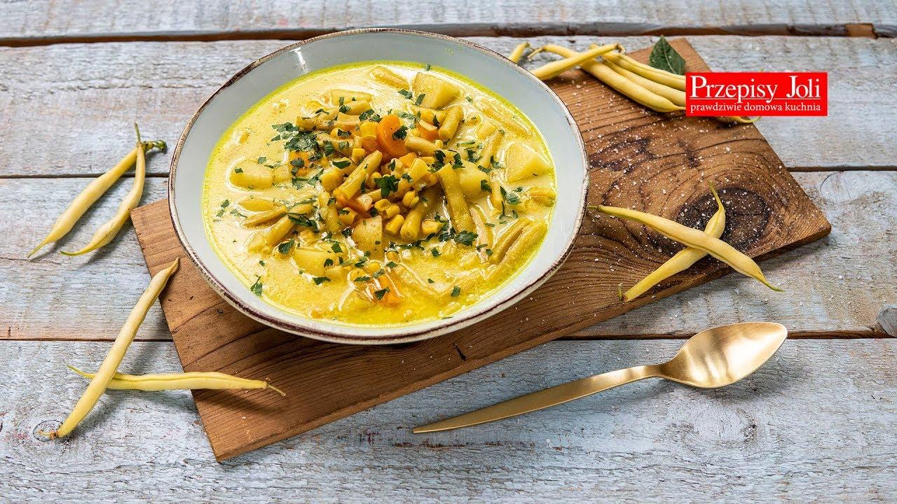 Zupa Z Fasolki Szparagowej Przepis Na Obiad