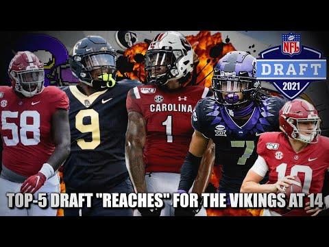 "Top 5 Draft ""Reaches"" That Actually Make Sense for the Minnesota Vikings"