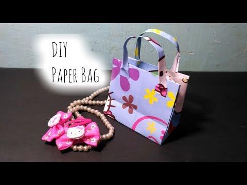 DIY Paper Bag | Paper Gift Bag Tutorial | Cara Membuat Tas Kado Imut | by FIS Handmade Craft