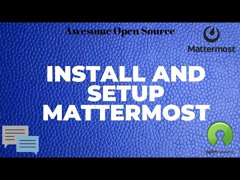 Mattermost - An Open Source, Self Hosted, Slack Chat Alternative