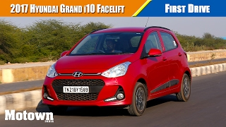 2017 hyundai grand i10 facelift   first drive   motown india