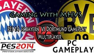 Pro Evolution Soccer 2014 GamePlay MultiPlayer Dortmund VS Fc Bayern.