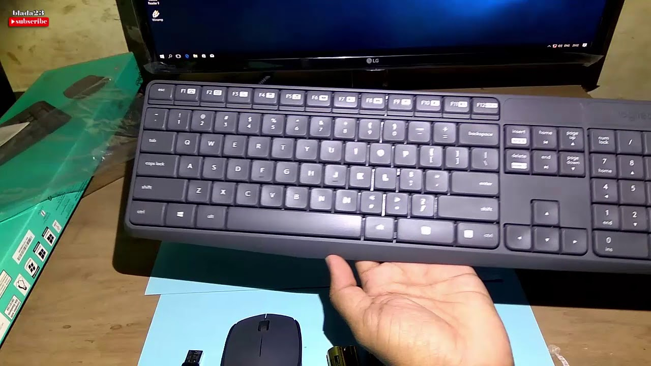 7c0161a73af Unboxing Logitech MK235 Best Value Wireless Keyboard and Mouse - YouTube