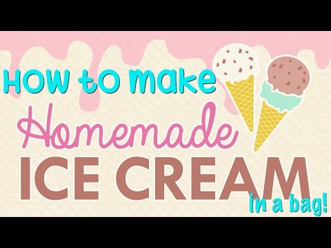 How to make ice cream at home in a zip lock bag cool science youtube how to make ice cream at home in a zip lock bag cool science ccuart Images