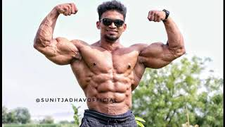 Mr India Sunit Jadhav Achievements, goals, wife name, height, weight, size,lifestyle, biography