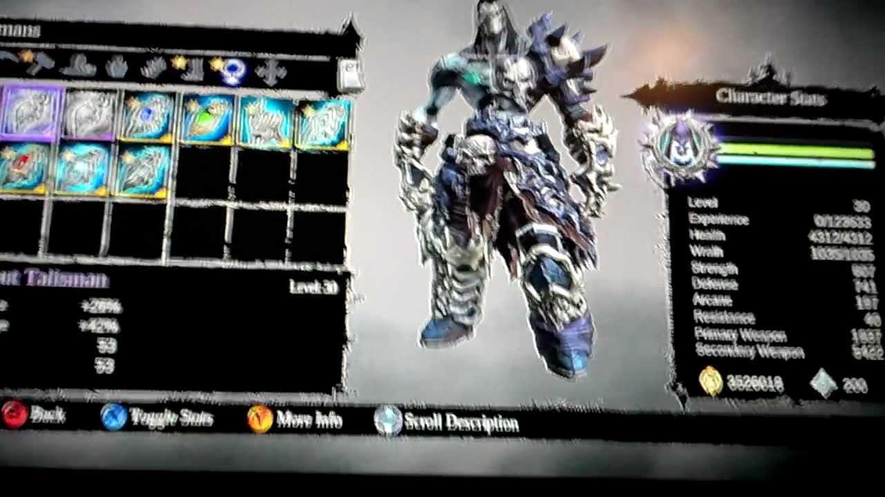 Darksiders  Best Scythe Build