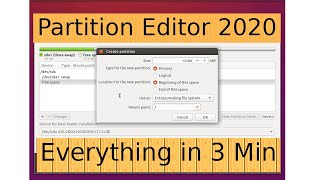 How to use Partition Editor Ubuntu Installer | Ubuntu Partit...