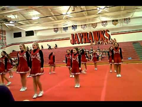 Vandercook Lake MS , Jayhawk Invitational, cheer 2