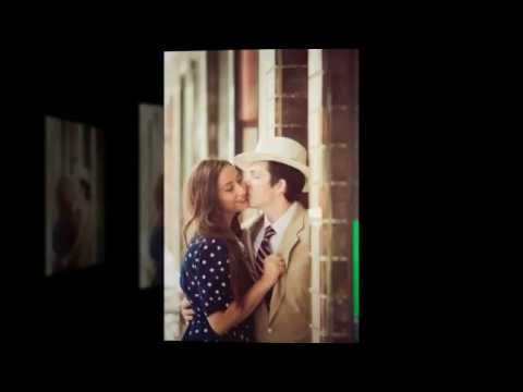 Brooke and Zach's Totally Vintage 1940s-themed Engagement Session in Tampa, Florida
