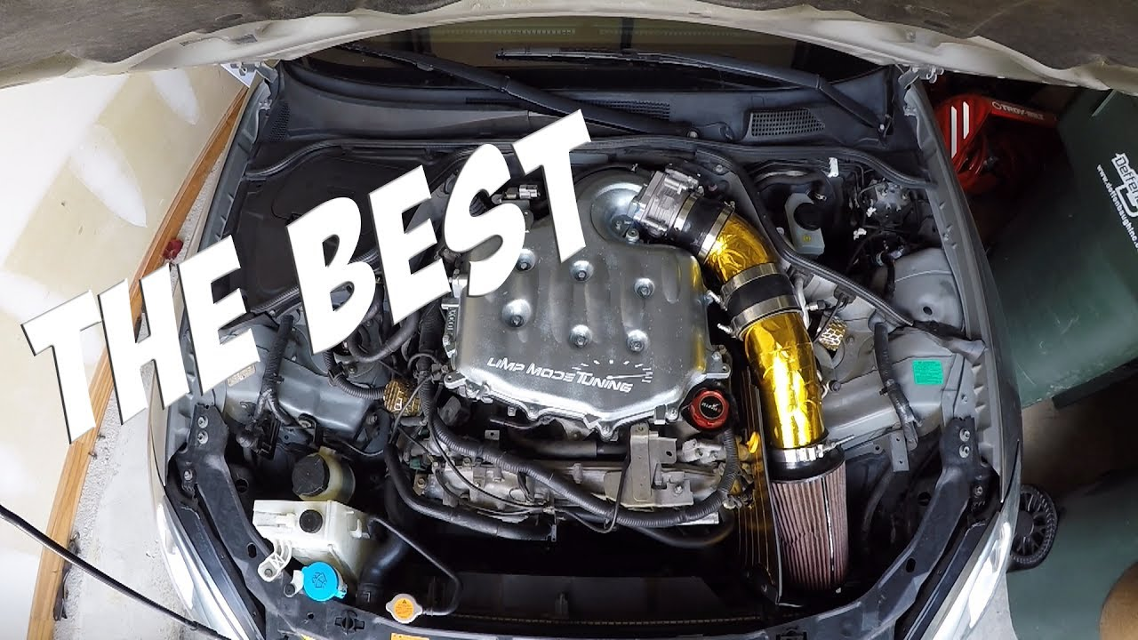 The Best Intake For G35 Coupe Sedan And 350z Youtube