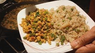 Pilau With Peas | Basmati Rice Pilaf With Green Peas | Punjabi Style Recipe