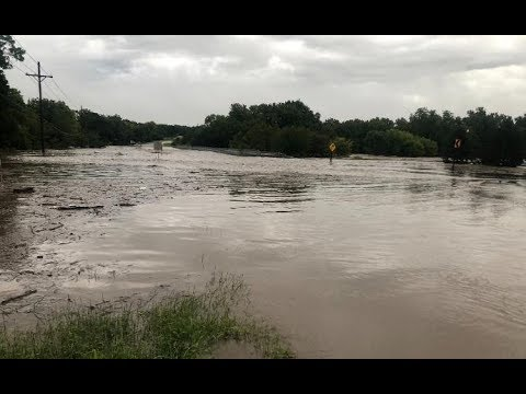 FLOODING Riley Co. town of Keats under evacuation order
