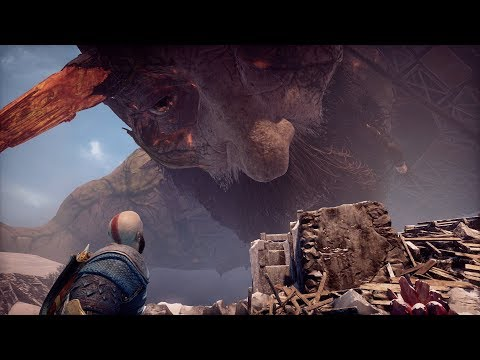 God Of War PS4 - Baldur Final Boss Fight And Secret Ending (Give Me God Of War Hard Difficulty) (4K)