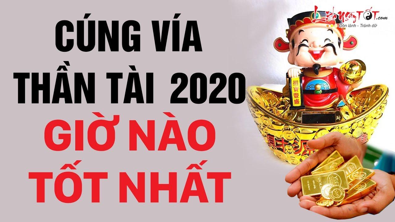 Cúng Vía Thần Tài 2020 Vào Giờ Nào Tốt Nhất Để Thần Tài Che Chở Tiền Bạc Đầy Kho – Ngày Vía Thần Tài