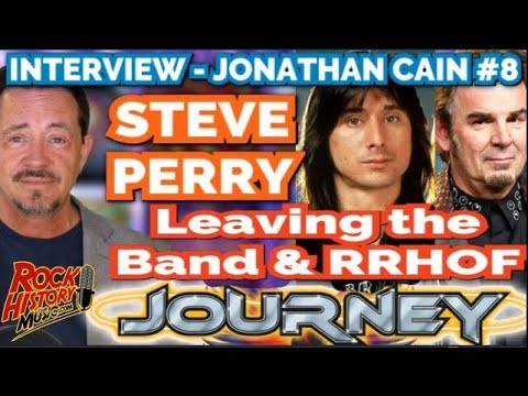 Jonanthan Cain on Steve Perry Leaving Journey & Rock Hall Of Fame