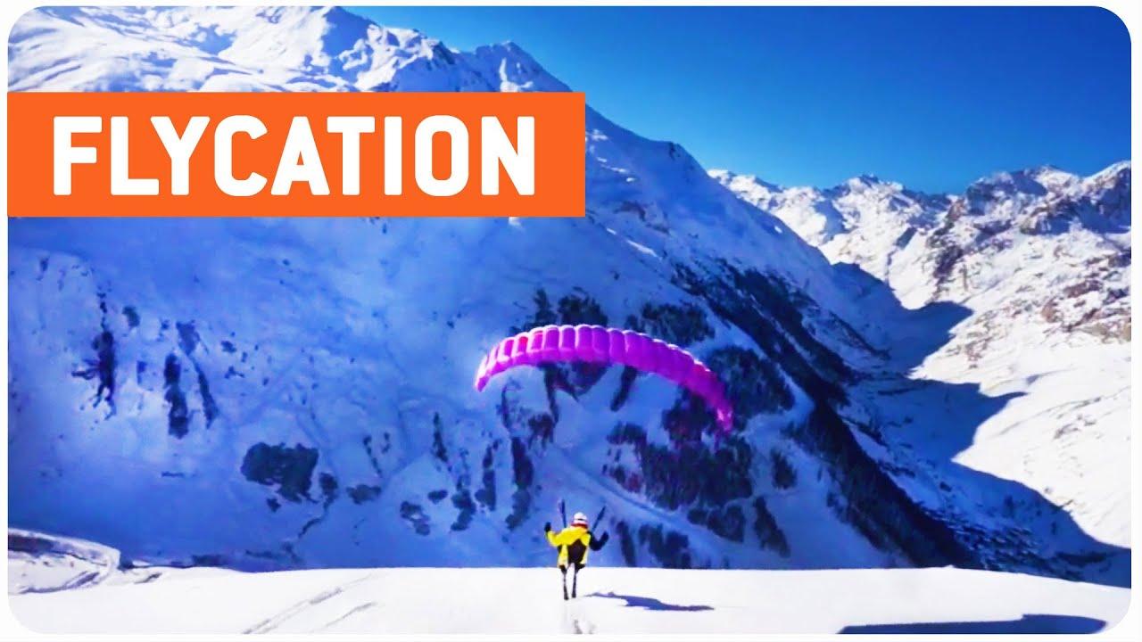 Speedriding In France | Flying Down The Slopes