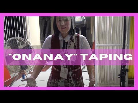 Vlog #2: Onanay Set Tour (feat. Kate Valdez, Nora Aunor, etc.) | Mikee Quintos