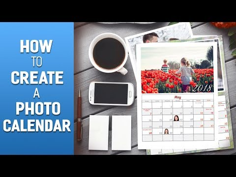 How to Create Your Own Photo Calendar - The Complete Video Guide