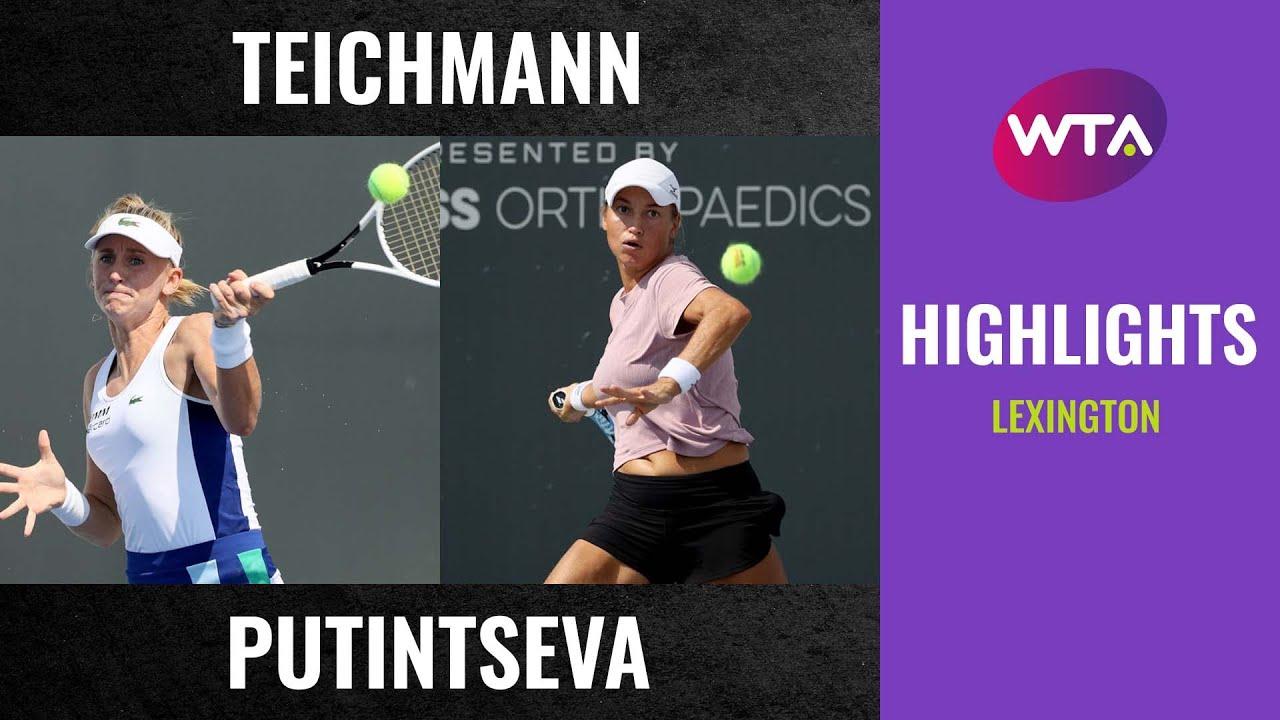Jil Teichmann vs. Yulia Putintseva | 2020 Lexington Second Round | WTA Highlights