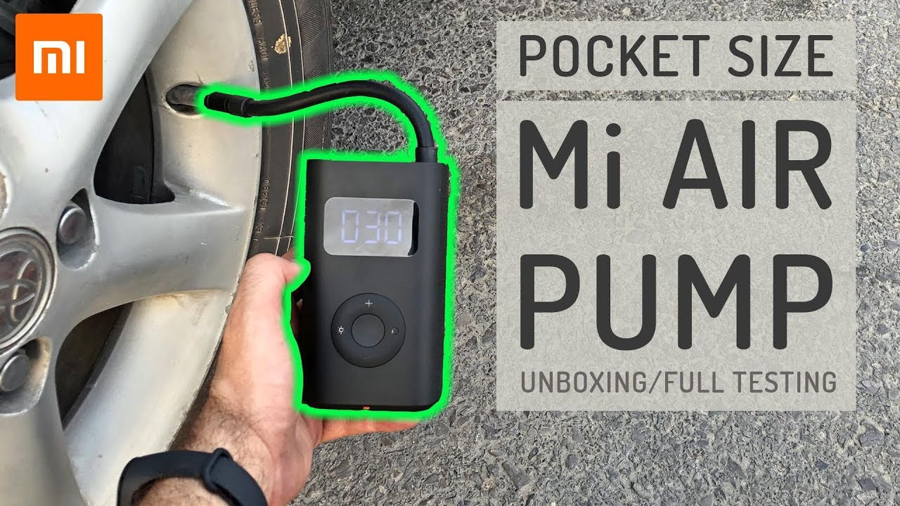 Xiaomi Air pump - Tested on everything that inflates!