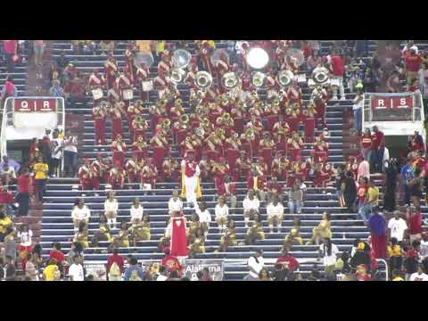 Tuskegee Tigers Marching Band (2017) 5th Quarter Classic In Mobile AL
