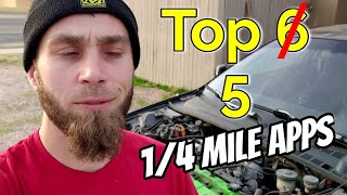 1/4 mile app review | top 5 | Prelude