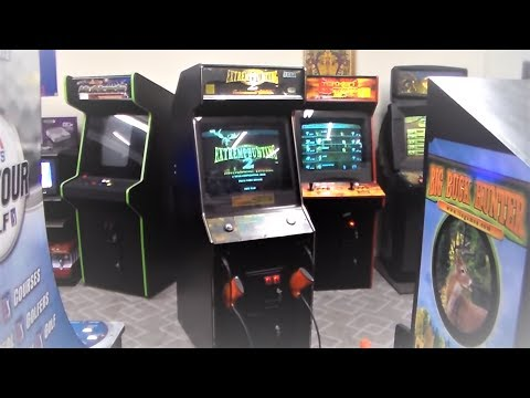 Extreme Hunting 2 Arcade Game By Sega - Gameplay Video