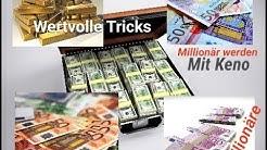 Keno Millionär werden täglich eine Million Euro zu gewinnen