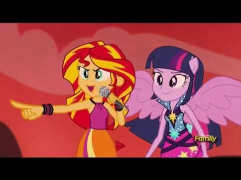 Welcome To The Show   Rainbooms Battle Full Battle   MLP  Equestria Girls   Rainbow Rocks!