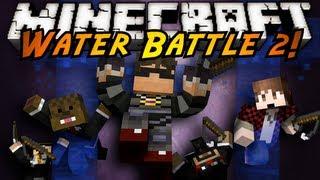 Minecraft Mini-Game : WATER BATTLE 2!