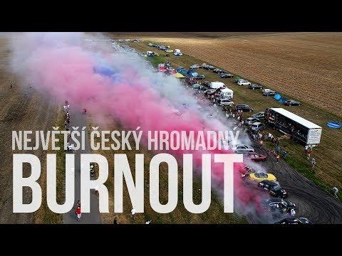 Největší hromadný BURNOUT: padl nový český rekord?!