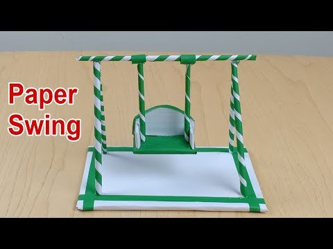 DIY I Beautiful Swing | How To Make A Paper Swing